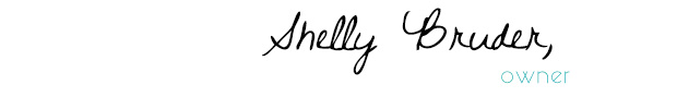 shelly bruder signature